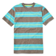 Arizona Striped V-Neck Tee – Boys 8-20 and Husky