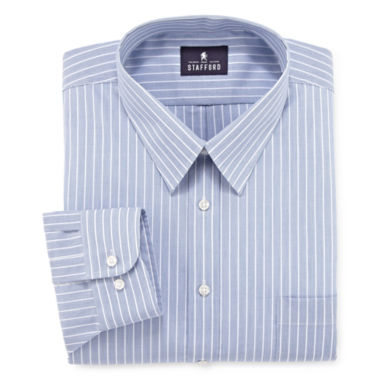 jcpenney.com | Stafford® Performance Pinpoint Dress Shirt–Big & Tall