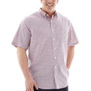IZOD® Short-Sleeve Woven Shirt–Big & Tall