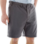 IZOD® Saltwater-Washed Shorts–Big & Tall