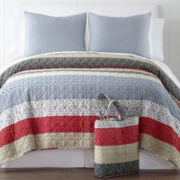 Home Expressions™ Sadie Quilt Set + BONUS Tote Bag Collection