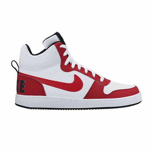 Nike Court Borough Mid Mens Basketball Shoes
