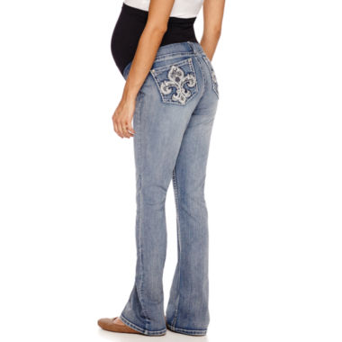jcpenney.com | Love Indigo Classic Fit Bootcut Jeans-Plus Maternity