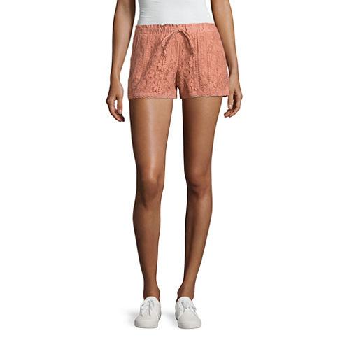 "Rewind 3"" Lace Soft Shorts-Juniors"