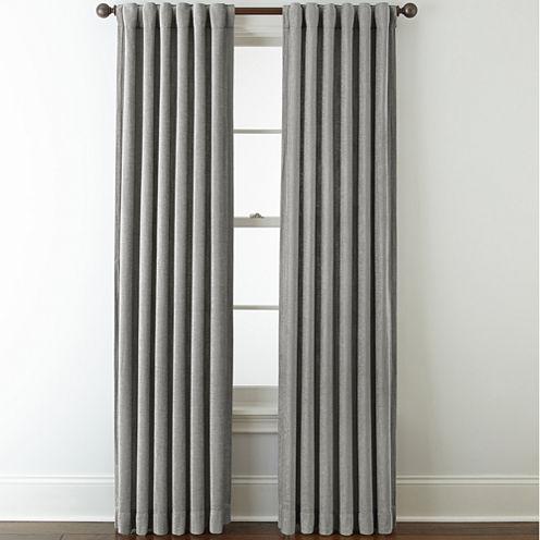 Royal Velvet® Luxury Chenille Rod-Pocket/Back-Tab Curtain Panels
