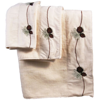 jcpenney.com | Hiend Accents Pine Cone 3-pc. Bath Towel Set