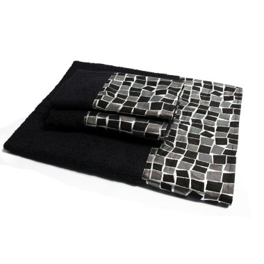 jcpenney.com | Popular Bath Mosaic Stone 3-pc. Bath Towel Set
