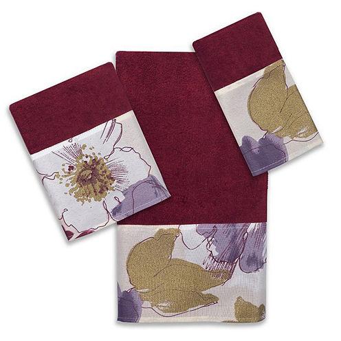 Popular Bath Dahlia 3-pc. Bath Towel Set