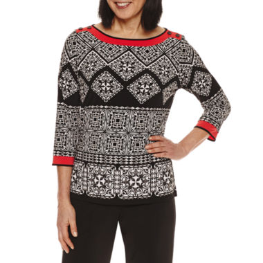jcpenney.com | Alfred Dunner Tunic Top