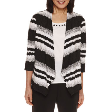jcpenney.com | Alfred Dunner 3/4 Sleeve Layered Top