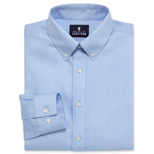 Stafford® Executive Non-Iron Cotton Oxford Shirt - Big & Tall