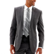Stafford® Gray Pinstripe Suit Jacket