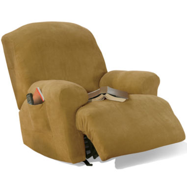 jcpenney.com | SURE FIT® Stretch Piqué 1-pc. Recliner Slipcover