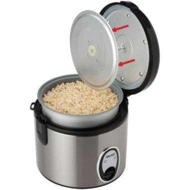 jcpenney.com | Aroma® 8-Cup Stainless Steel Rice Cooker