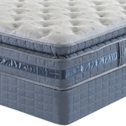 CLOSEOUT! Serta® Perfect Sleeper® Messenger Bay Plush - Mattress + Box Spring