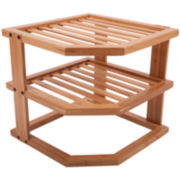 Core Bamboo™ 3-Tier Corner Shelf