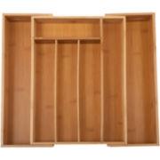 Core Bamboo™ Medium Expandable Flatware Tray