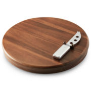 Michael Graves Design Cheese Board and Knife Set