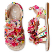 Joe Fresh™ Toddler Girls Flower Sandals
