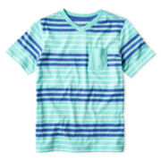 Arizona Striped V-Neck Tee - Boys 6-18
