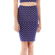 Olsenboye® Print Pencil Skirt
