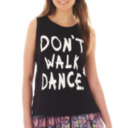 Olsenboye® Sleeveless Dance Muscle Tee