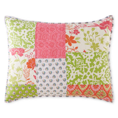 jcpenney.com | Home Expressions™ Winsome Floral Pillow Sham