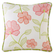 Home Expressions™ Winsome Floral Square Decorative Pillow