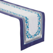 Border Print Table Runner