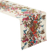 Bouquet Print Table Runner