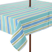 Sailor Stripe Indoor/Outdoor Umbrella Tablecloth