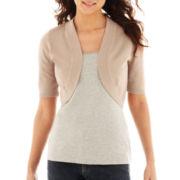 Worthington® Short-Sleeve Bolero Cardigan