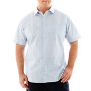Van Heusen® Short-Sleeve No-Iron Woven Shirt-Big & Tall