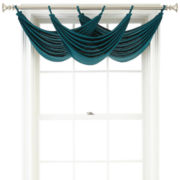 CLOSEOUT! Royal Velvet® Ally Tab-Top Waterfall Valance