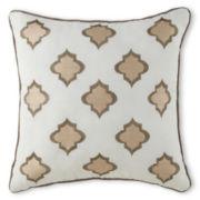 Milano Gold Square Decorative Pillow