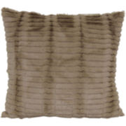 Faux-Fur Decorative Pillow