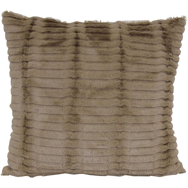 Cut Faux Fur Decorative Pillow JCPenney