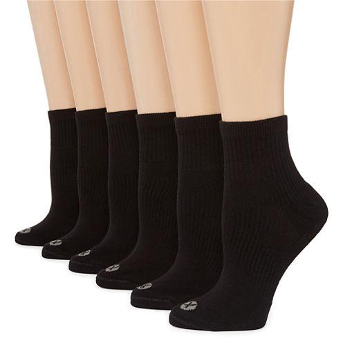 Xersion™ 6-pk. Quarter Socks - Extended