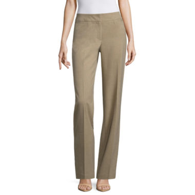 jcpenney.com | Liz Claiborne Straight Fit Trousers Talls