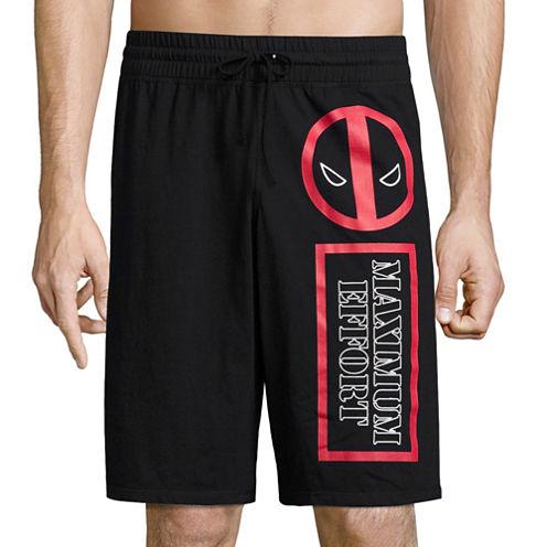 Deadpool Reversible Knit Pajama Shorts