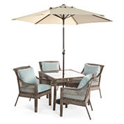 52 Steel Patio Dining Sets Furniture For The Home Jcpenney