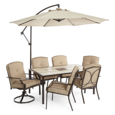 jcpenney.com | Outdoor Oasis™  Stratton 7pc Dining Set