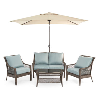 jcpenney.com | Outdoor Oasis™ Latigo 4pc Conversation Set