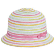 Okie Dokie® Striped Row on Row Ribbon Hat - Girls