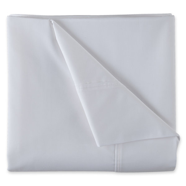 Jcpenney Home Store Locator: JCPenney Home 300tc Easy Care Solid Sheet Sets JCPenney