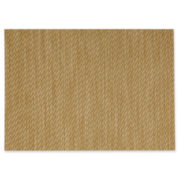 Textiline Set of 4 Twill Woven Vinyl Placemats