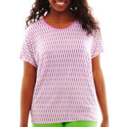 jcp™ Drop-Sleeve Tee - Plus