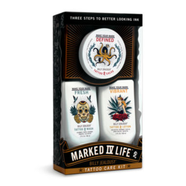 jcpenney.com | Billy Jealousy Marked IV Life Tattoo Care Kit