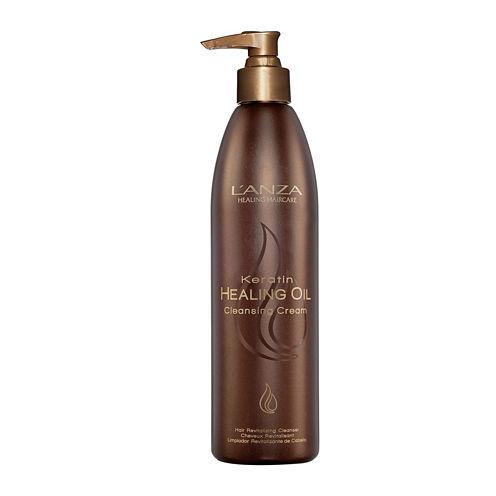 L'ANZA Keratin Healing Oil Cleansing Cream - 3.4 oz.
