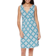 St. John's Bay® Surplus Flip-Flop Dress - Petite